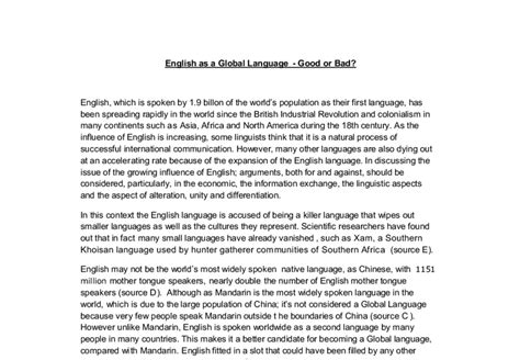 As A Global Language Essay by Essays On Language Language Learning Essay Our Work Writing Essays Language And