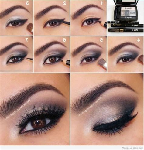 tutorial lipstik simpel best smokey eyes tutorials makeup 2015