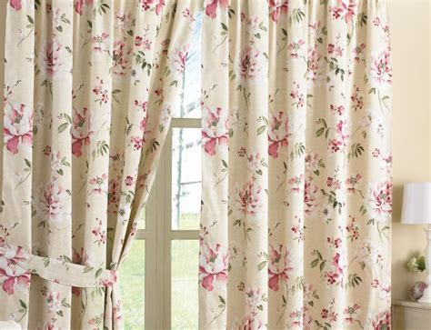 rose curtains pink floral curtains 66 x 72 www perfectlyboxed com