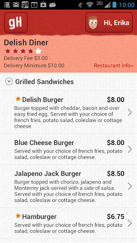 Grubhub E Gift Card - grubhub food delivery takeout android apps on google play