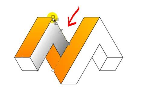 membuat logo huruf 3d dengan coreldraw membuat logo 3d kelas profesional menggunakan corel draw