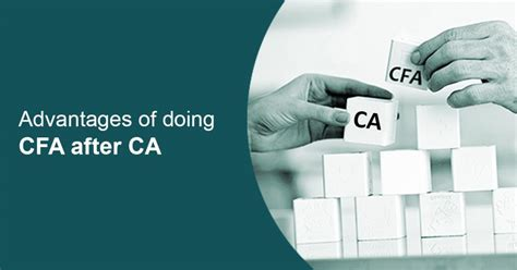 Cfa Or Mba After Ca by Advantages Of Doing Cfa After Ca