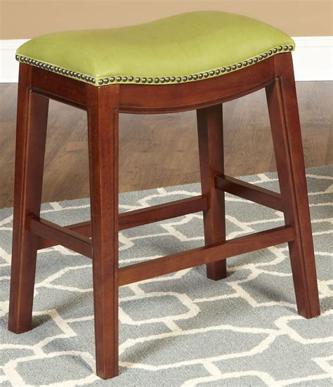 green counter stools green 24 quot backless counter stool from largo