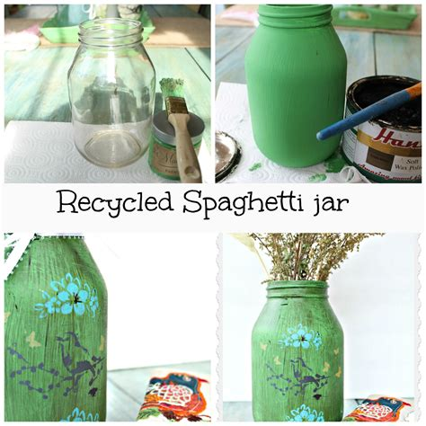 recycled glass jar crafts debbiedoo s