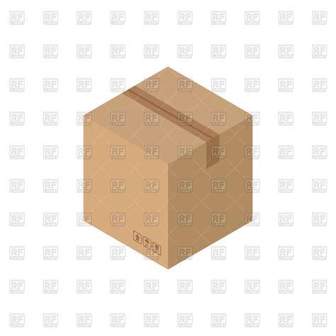 cardboard box layout print vector 2 cardboard box vector image 144925 rfclipart