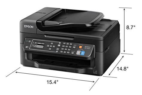 Printer Epson Copy F4 epson workforce wf 2630 all in one printer inkjet printers for work epson us