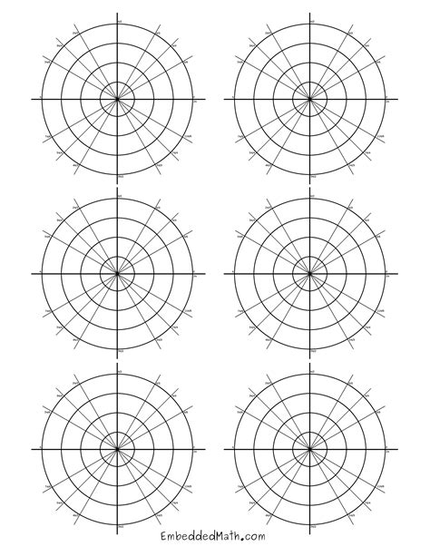 How To Make A Paper Polar - polar graph paper search results calendar 2015