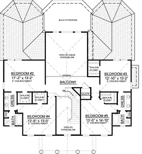 low country floor plans low country house plan with balcony bridge 9178gu