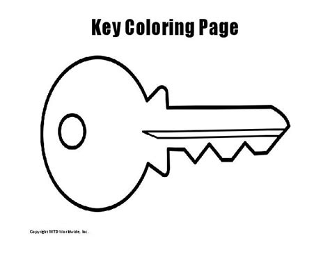 free printable coloring pages of keys free printable key coloring page 88 for pictures with key