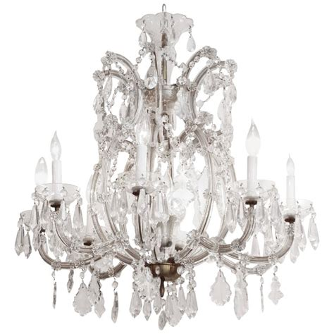 1940s Chandelier 1940s Therese Eight Arm Chandelier For Sale At 1stdibs