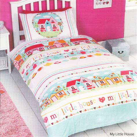 toddler curtains and bedding my little house kids duvet set harry corry limited