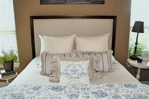 upholstered headboards with wood trim wood and upholstered headboard turn outdated headboard