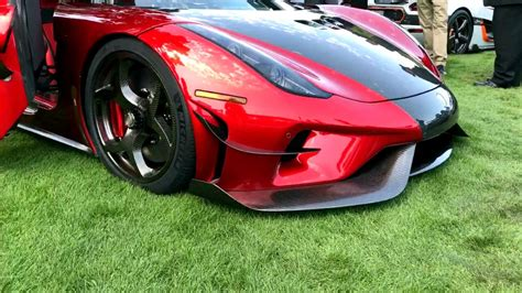 koenigsegg aero koenigsegg regera debuts aero package at pebble
