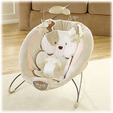 fisher price puppy bouncer my snugapuppy deluxe bouncer