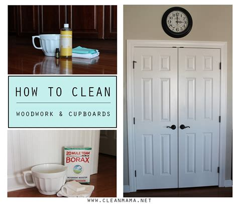 how to clean wood cabinets in the kitchen how to clean woodwork and cupboards clean mama