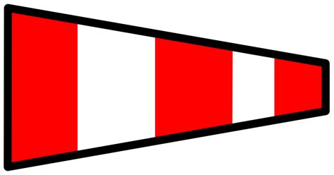 onlinelabels clip signal flag answering pennant