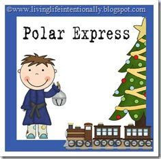 printable version of polar express polar express activities free note home to parents about
