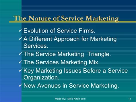 Service Marketing Ppt For Mba by Mba Unit1 Marketing Of Services