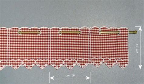 tendaggi tirolesi mantovana tirolese disegno quadrettini cesano