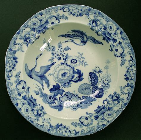 Blue Pattern Pottery | fine staffordshire hicks and meigh stone china exotic