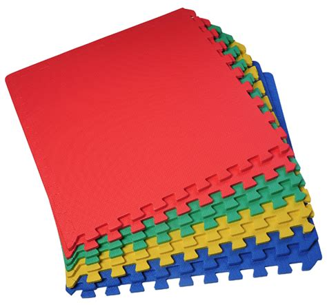 Interlocking Play Mat by 32 Sq Ft Interlocking Foam Mat Tiles Play Exercise
