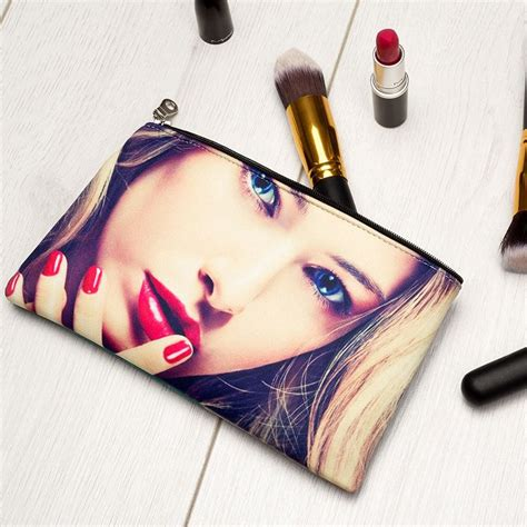 Printed Zip Pouch custom printed zipper pouch personalised zip pouch