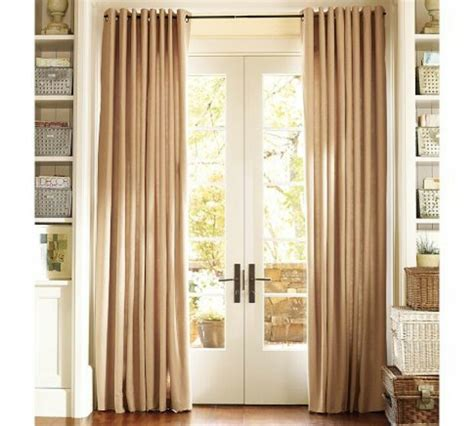 how to hang curtains on french doors 1000 images about french door curtains on pinterest