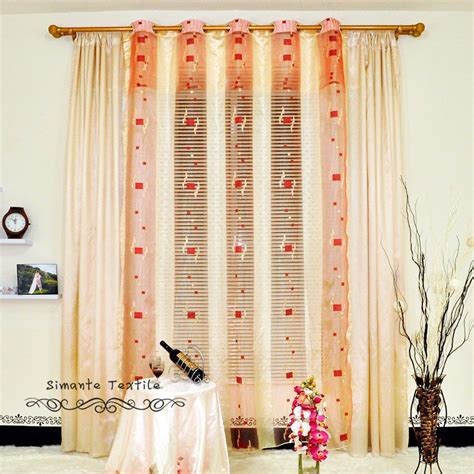 Sheer Fabric For Curtains Designs Sheer Curtain Fabric Promotion Shopping For Promotional Sheer Curtain Fabric On