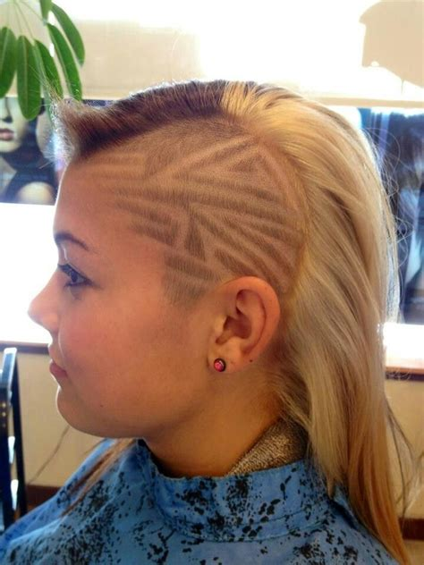 hair desings with plated hair hair tattoo design women hairtattoo line design