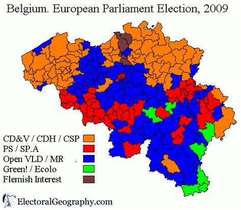 5 themes of geography belgium belgium european parliament election 2009 electoral