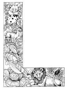 Alphabet animaux pour enfants dessins 224 colorier alphabet