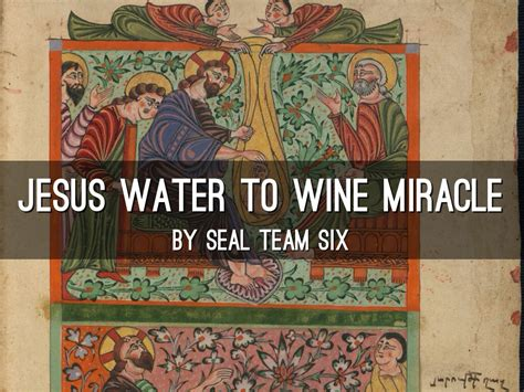 Wedding At Cana Deeper Meaning by Jesus Of Nazareth Water Wine By Christian Mcclanan