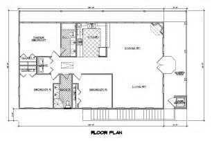 1500 Square Foot House Plans by One Story House Plans With Open Concept 1 500