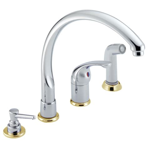 delta white kitchen faucets single handle kitchen faucet 174 cbwf delta faucet