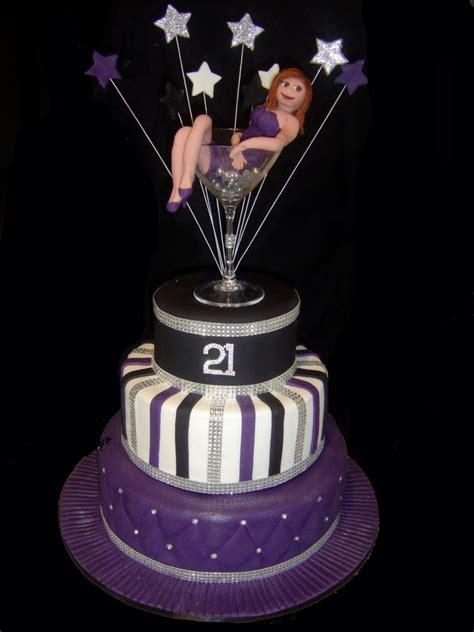 martini birthday cake bling martini glass 21st birthday cake cakecentral com