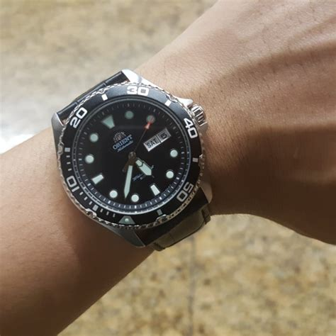 Orient Black 2 orient 2 s fashion watches on carousell