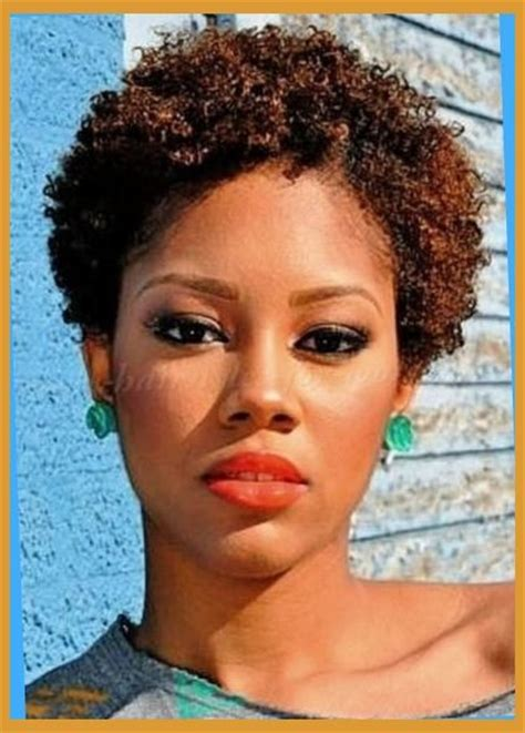 tinted short afro hair african american naturally curly hairstyles intended for