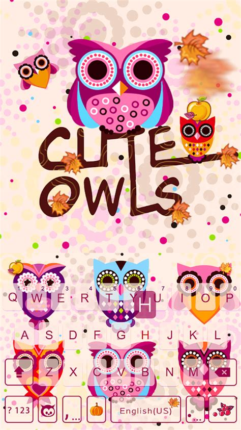 emoji hantu cute owls emoji keyboard تطبيقات android على google play