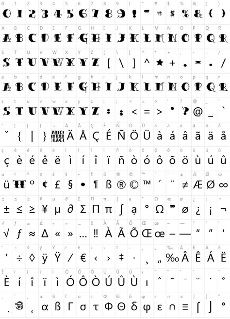 tattoo fonts png character map share on charactermap letters petal