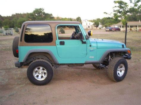 teal jeep wrangler turquoise jeep wrangler for sale autos post