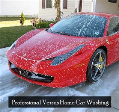 Car Wash Port Melbourne by Professional Car Washing Versus Home Car Washing