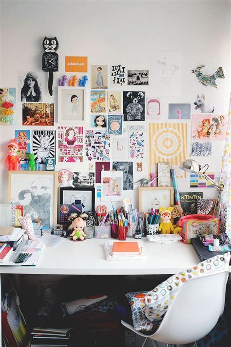wall inspiration best 25 desk ideas on craft room design