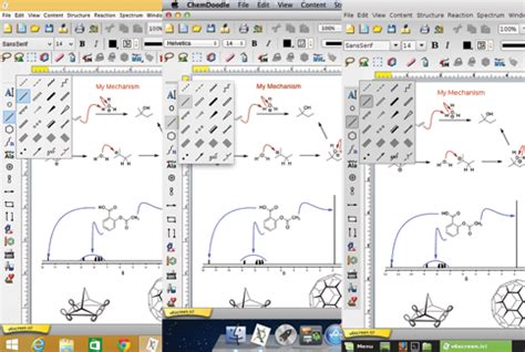 chemdoodle free universality chemical drawing software