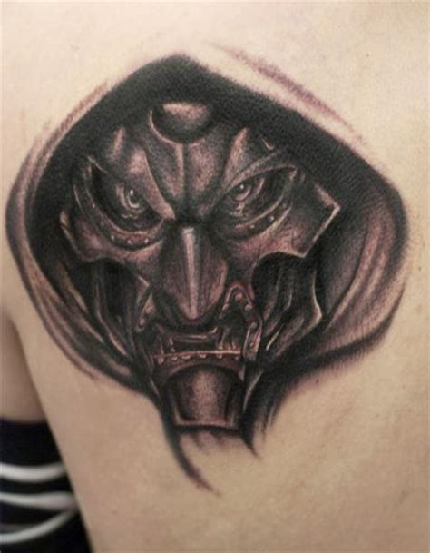 doom tattoo junkies studio tattoos mullins black