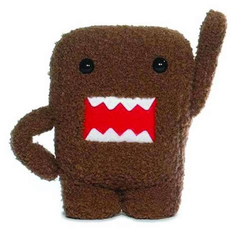 Monsta Brown plush domo wants to nom nom on your fingers gearfuse
