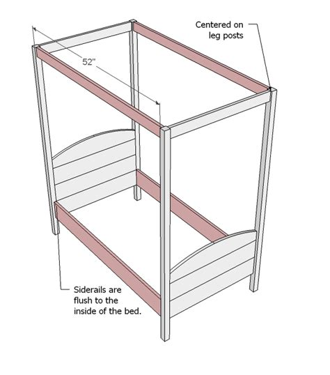 toddler bed woodworking plans pdf diy canopy bed plans blue wood stain