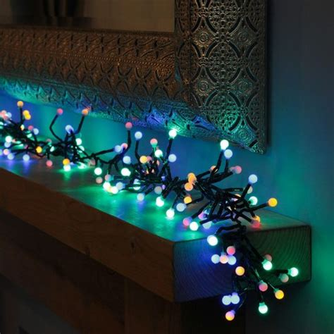christmas cluster lights outdoor lights with creative