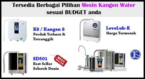 Resmi Mesin Kangen Water distributor resmi mesin kangen water lung timur lung