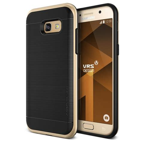 Original Verus Galaxy A5 2017 High Pro Shield Shine Gold verus high pro shield skal till samsung galaxy a5 2017 gold themobilestore