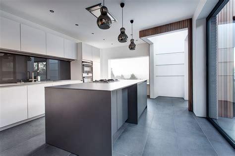 Mini Pendant Lights Over Kitchen Island white amp grey kitchen island pendant lighting modern